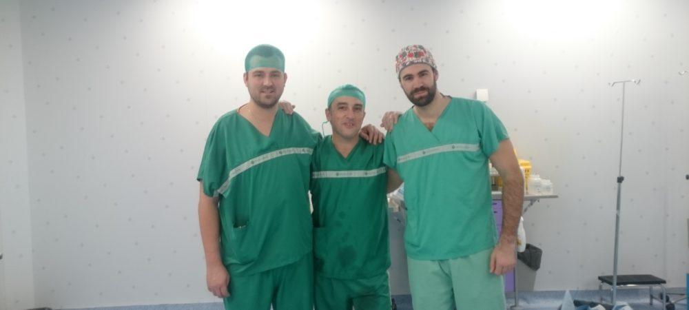 Rafa, Luis y yo