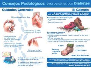 consejos podológicos diabetes