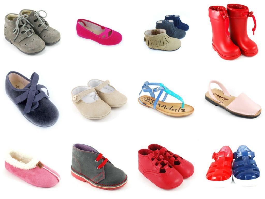 Elección de un calzado infantil