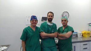 Parte del equipo quirúrgico